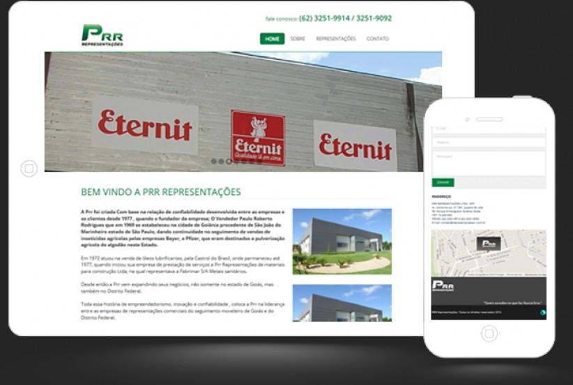 websites - Criação do site PRR Representações
