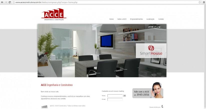 websites - ACCE Construtora