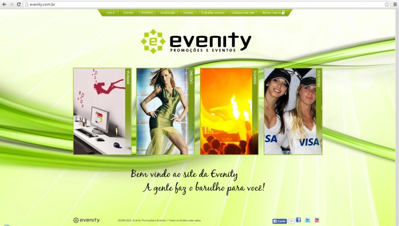 websites - Site Evenity