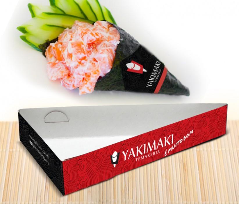 identidade visual - Porta temaki para Yakimaki Temakeria