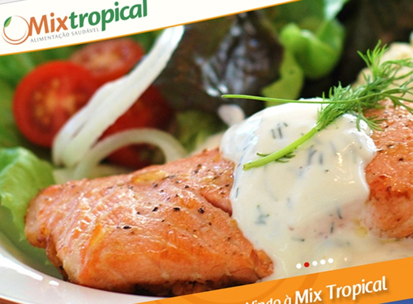 websites - Site Mix Tropical Restaurante