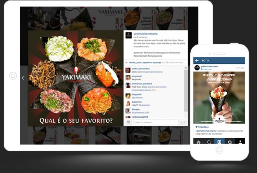 marketing digital - Gerenciamento Conteúdo Instagram Yakimaki