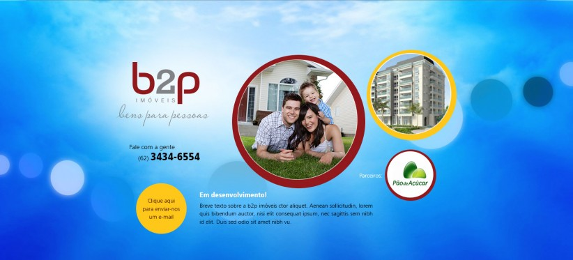 websites - B2p Imóveis