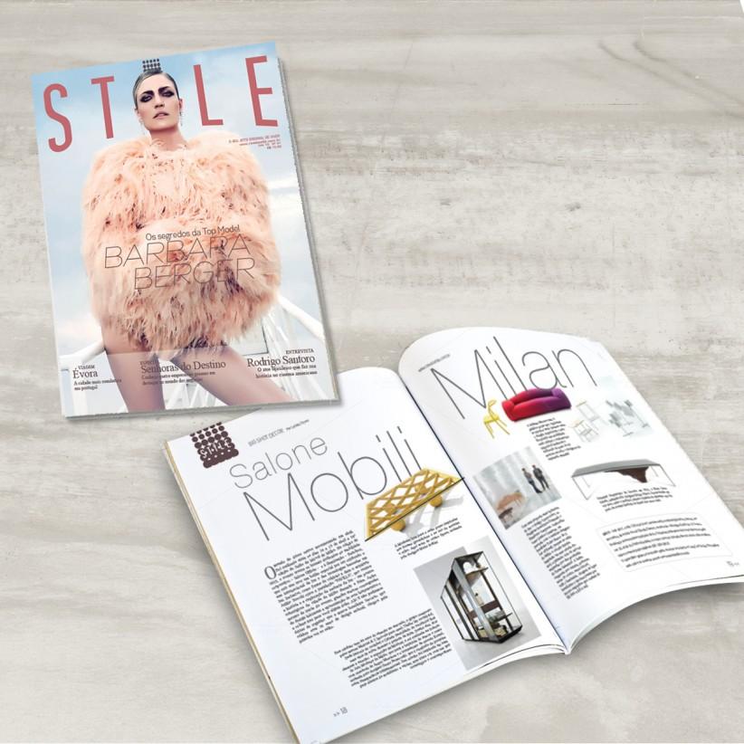 impressos - Diagramação Revista Stile