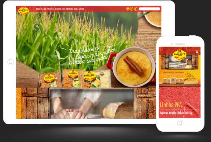 websites - Criação Site PPA ALIMENTOS