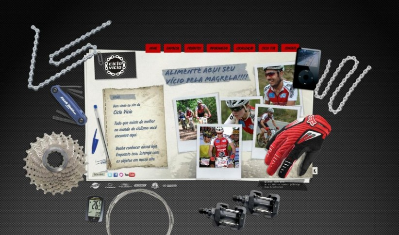 websites - Site Ciclo Vicio Bikes