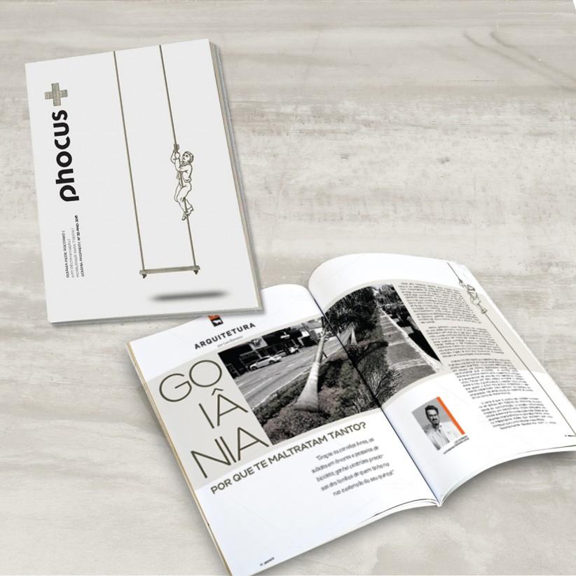 impressos - Diagramação e Projeto Gráfico Revista Phocus +