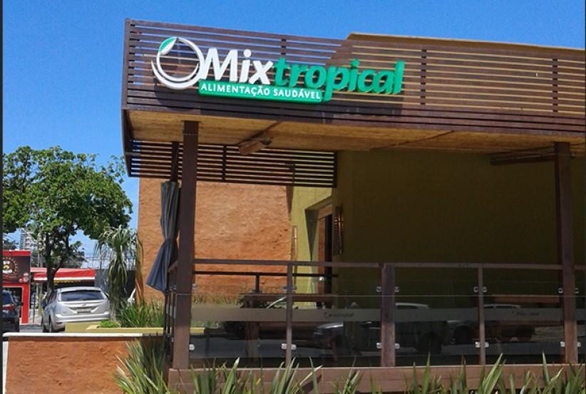 logotipos - Desenvolvimento Logomarca Restaurante Mix Tropical