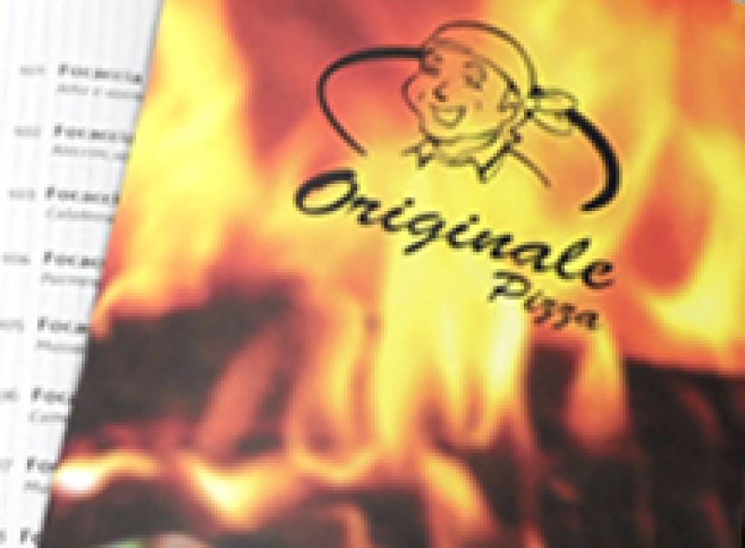 impressos - Cardápio Pizzaria Originale