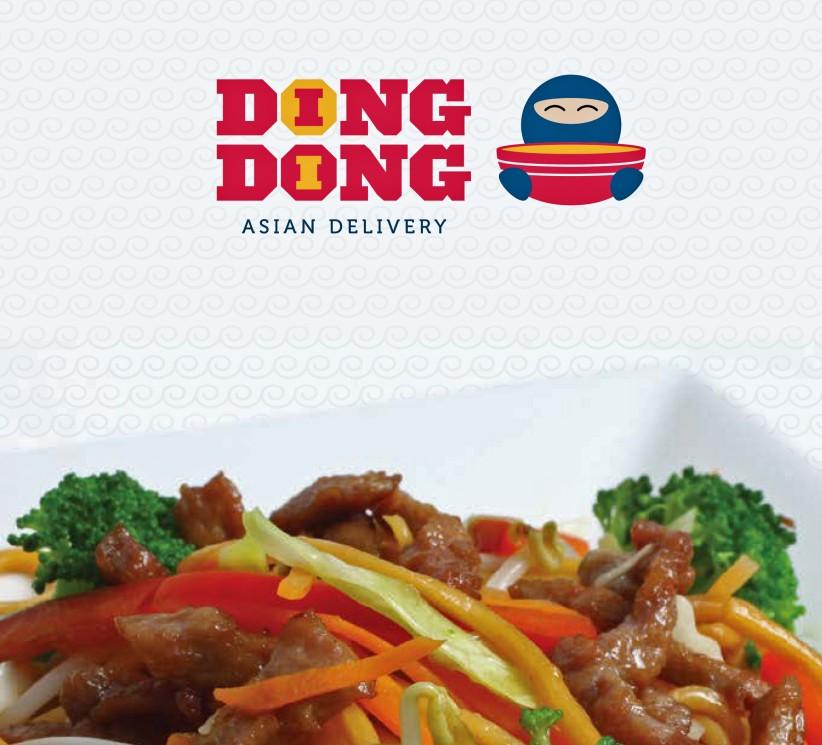 impressos - Cardápio Ding Dong Delivery